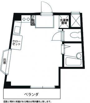 葛西駅徒歩5分女性専用ワンルームK'sマンション301