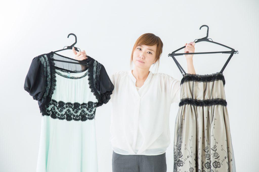 キャバ嬢 ドレスを選ぶ