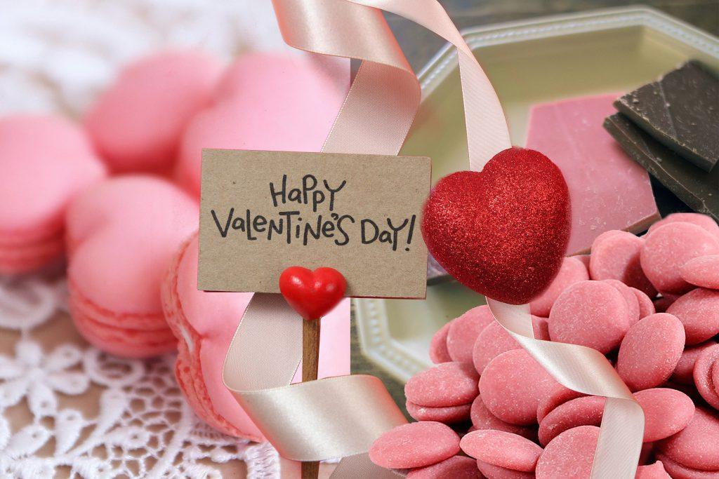バレンタインイメージ画像 ルビーチョコレート 大杉ハウス